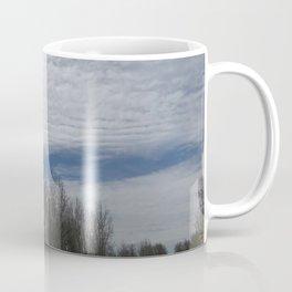 Fluffy Clouds Peaceful Scenery Coffee Mug