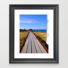Tramway  Framed Art Print