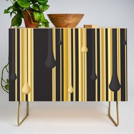 DRIPPING IN GOLD Credenza