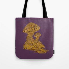 SHROOM SWAMP - PURPLE Tote Bag
