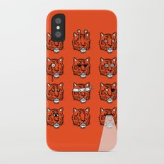 Eyes Of The Tiger iPhone X Slim Case