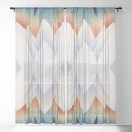 Life in Repeat Sheer Curtain