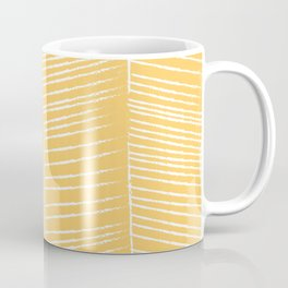 Herringbone - Marigold Coffee Mug