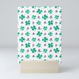 Lucky shamrock Mini Art Print