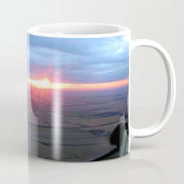 Flying at Sunset (Full Sutton) Coffee Mug