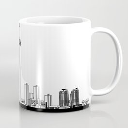Toronto Skyline - Black Base Coffee Mug