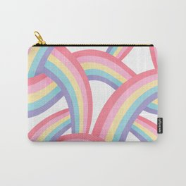 Rainbow abstract pattern Carry-All Pouch