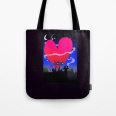 Valentines Cats Tote Bag