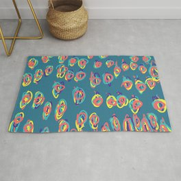 I don't need a why for freehand graphic design Rug
