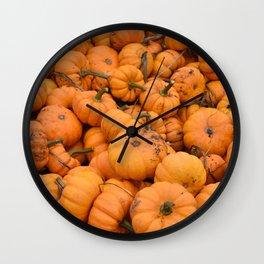 Lil Pumpkin Wall Clock