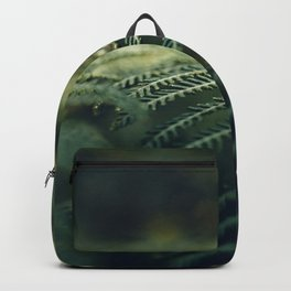 Green and Golden Backpack