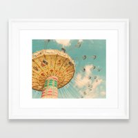 glee Framed Art Prints featuring Glee by Suzanne Harford