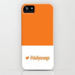 @DailyOrange iPhone Case