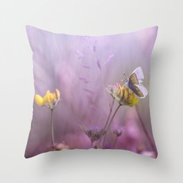 It's only me.... and this little one... Throw Pillow