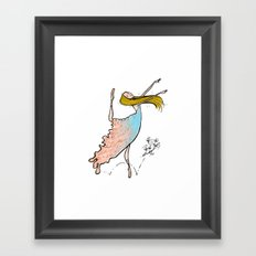 Dance Partners Framed Art Print