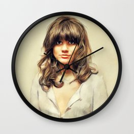 Linda Ronstadt, Music Legend Wall Clock