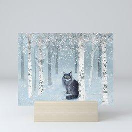Finny Forest Mini Art Print