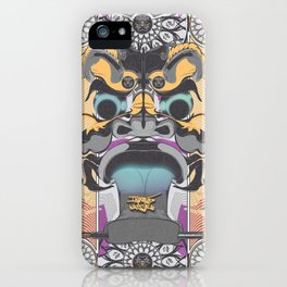 Face of Awe iPhone Case
