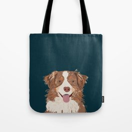 Hollis - Australian Shepherd gifts for dog owners pet lovers dog people gifts for dog person Tote Bag