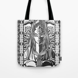 Legend of Zelda Midna the Twilight Princess Line Work Tote Bag