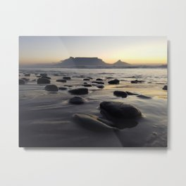 Table Mountain, Cape Town Metal Print