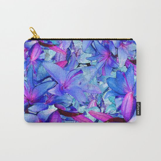 LILY BLUE BOUNTIFUL Carry-All Pouch
