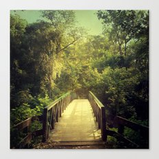 The Journey Starts With a Single Step Canvas Print