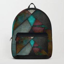 """Grunge metal pattern"" Backpack"