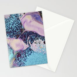 Psychedelic lady II Stationery Cards