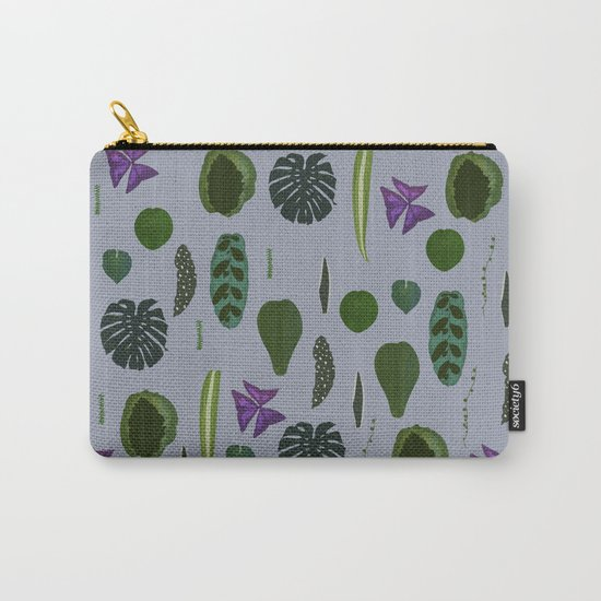 A non-scientific botanical investigation of the indoor plant. Carry-All Pouch
