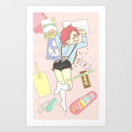 Yowamushi Pedal Art Print