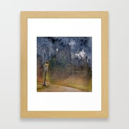A Light in The Dark Framed Art Print