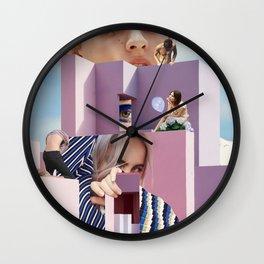 Pastel desires Wall Clock