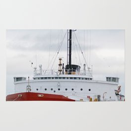 USCG Cutter Mackinaw 83 Rug