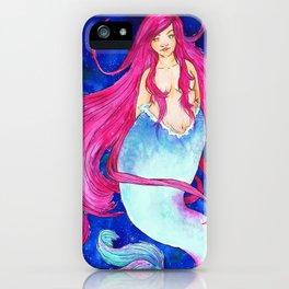 Galaxy Mermaid iPhone Case