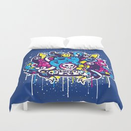 Unlucky Kitty Duvet Cover