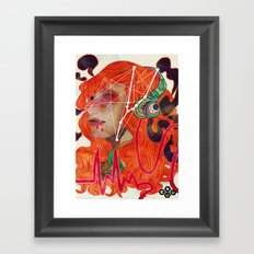 Volume Up Sun Down Framed Art Print