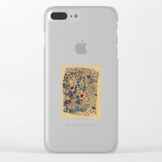 - medieval - Clear iPhone Case