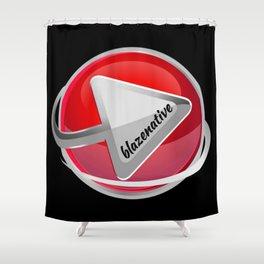 blazenative #2 Shower Curtain