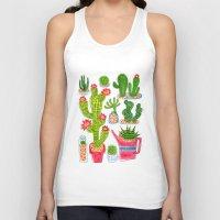 cactus Tank Tops featuring Cactus by Hui_Yuan-Chang