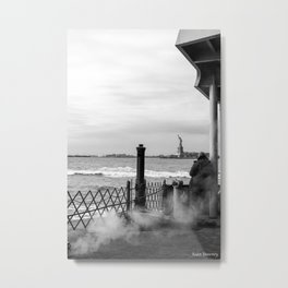 """The back of """"The Boat"""" Metal Print"""
