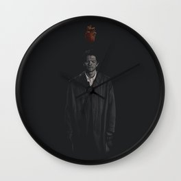 Too much heart Wall Clock