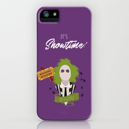 It's Showtime! Halloween Print iPhone Case