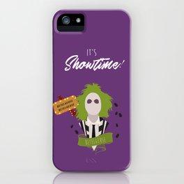 It's Showtime! Halloween Print iPhone Case