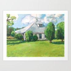 The Farm House Art Print