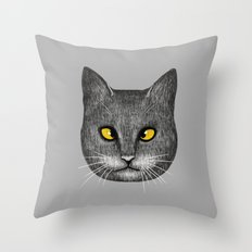 Cross Eyed Throw Pillow
