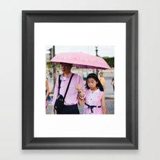PINK PEOPLE Framed Art Print