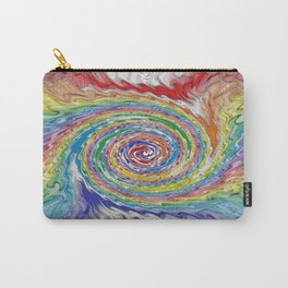A Colorful Splatter Carry-All Pouch