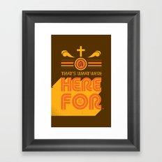 1st Gen UR Tees Framed Art Print