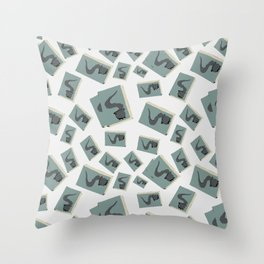Magic cute Book Of Potions Throw Pillow